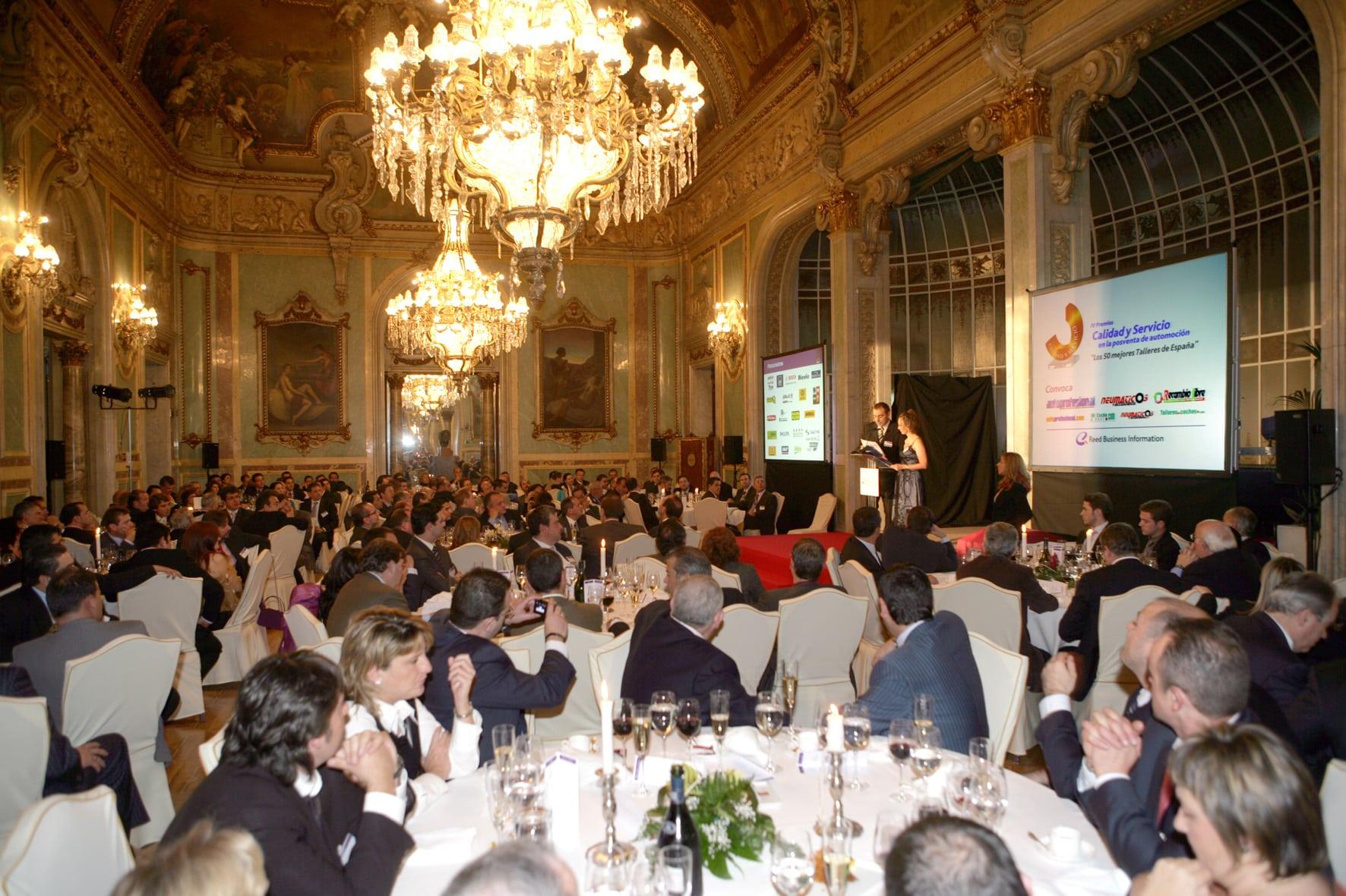 Evento 50 mejores talleres multimarca de España