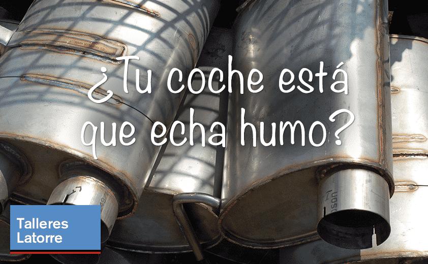 Humo: Imagen de tubos de escape viejos